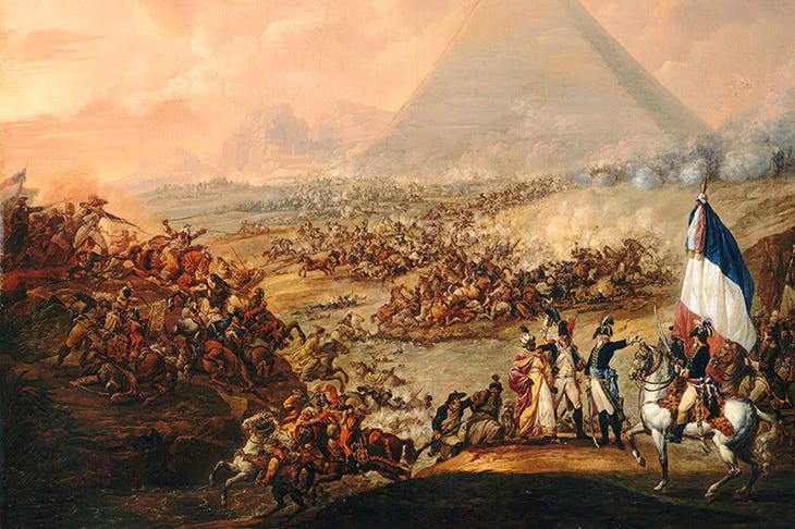 'The Battle of the Pyramids', 1798–9, by François-Louis-Joseph Watteau