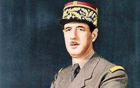 Greatness thrust upon him: General de Gaulle in 1940