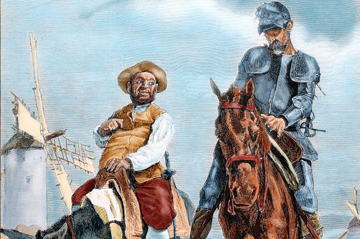 Don Quixote is often referred to as the 'first' novel, though Javier Cercas disagrees