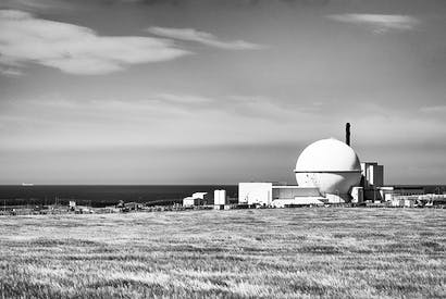 The nuclear plant at Dounreay