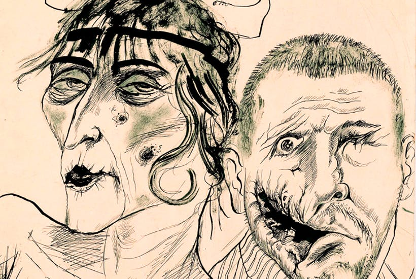 'Prostitute and Disabled War Veteran. Two Victims of Capitalism', 1923, by Otto Dix