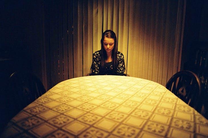 Molly Wright as Alex in Apostasy