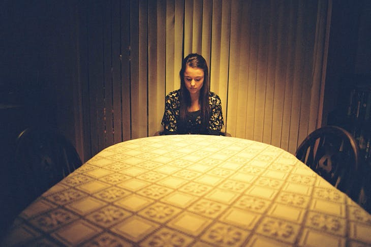 Molly Wright as Alex in Apostasy