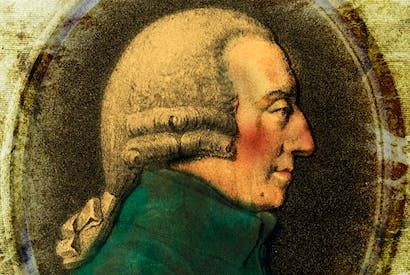 Adam Smith circa 1775; medallion by Tassie