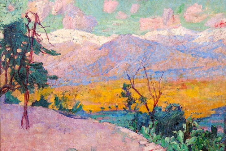 John Russell. The terraces at Monte Cassino c1889 Private collection, courtesy Nevill Keating Pictures, London, on loan to the National Gallery, London.