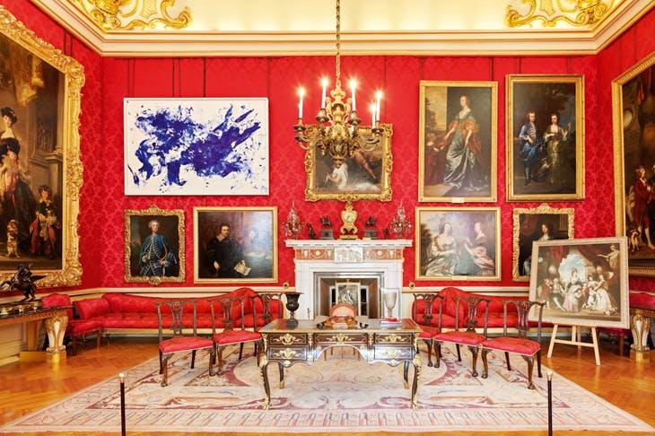 A kind of blue: Yves Klein's 'Jonathan Swift' (c.1960) amid the Van Dycks and Joshua Reynolds