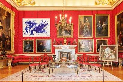 A kind of blue: Yves Klein's 'Jonathan Swift' (c.1960) amid the Van Dycks and Joshua Reynolds