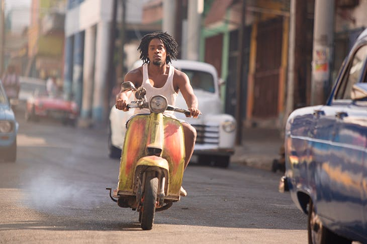 Aml Ameen as D in Idris Elba's Yardie