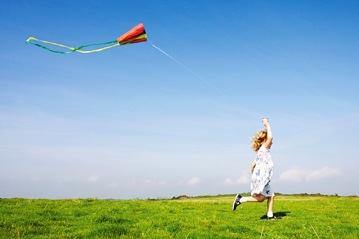 Let's go fly a kite...
