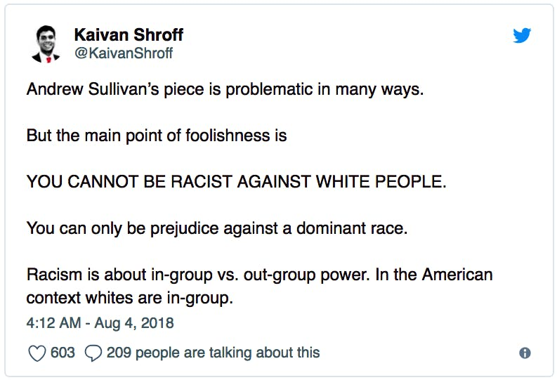 Why does everyone hate whites