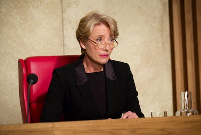 Emma Thompson as Fiona Maye in The Children Act