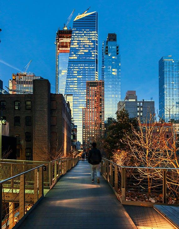 Lofty ambition: The High Line public park
