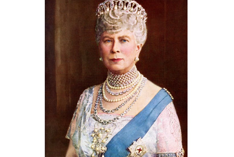 The proud, lonely queen dressed up in Garter ribbon and diamonds for dinner at Sandringham every night, even when alone with the king [Getty Images]