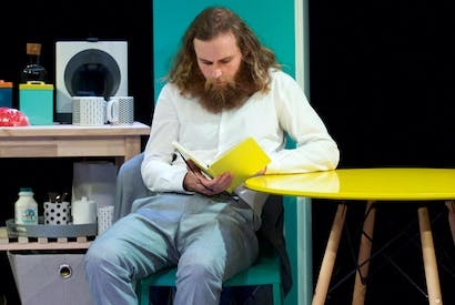 Rob Auton (Chris) in Frank Skinner's Nina's Got News