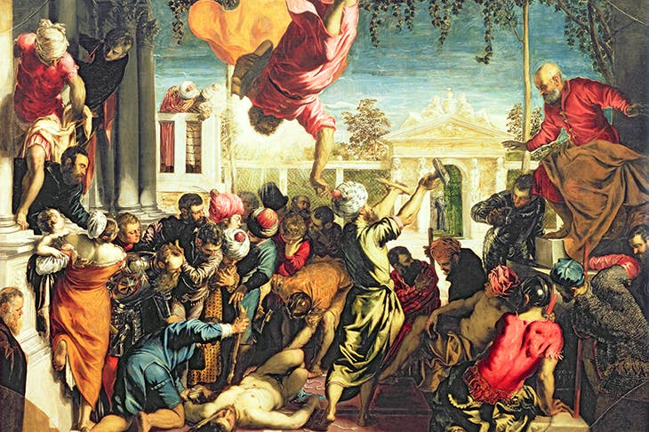 'The Miracle of St Mark Freeing a Slave', 1548, by Tintoretto