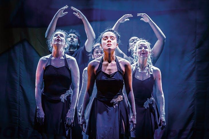 Teen spirit: Karla Crome in Dance Nation at the Almeida Theatre