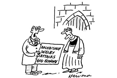 'Amazon would have delivered your sermon a lot quicker.'