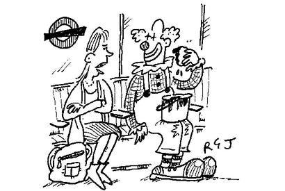 'Must you do your make-up on the Tube?'