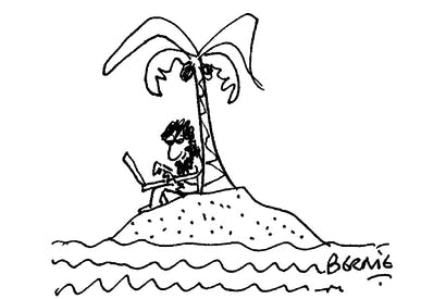 'Seriously babe — I have my own island!'