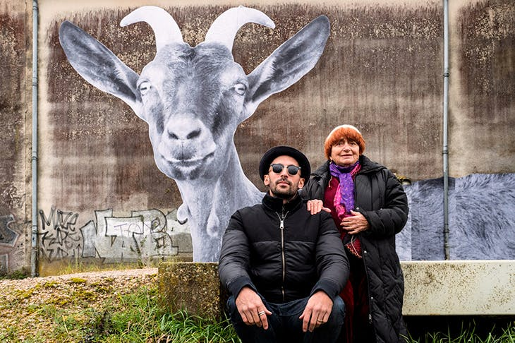 JR and Agnès Varda in Faces Places, a mesmerising meditation on lives lived