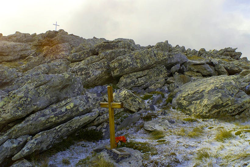 Mount Longdon, Falkland Islands, where members of the 3rd Parachute Regiment died in fighting on 11–12 June 1982