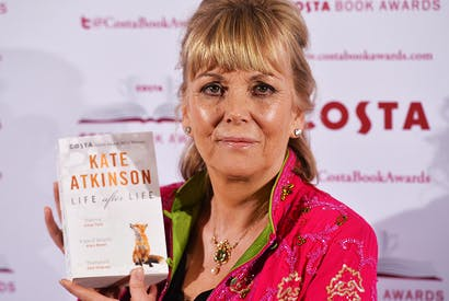 Author Kate Atkinson attending the Costa Book Awards for her novel Life After Life