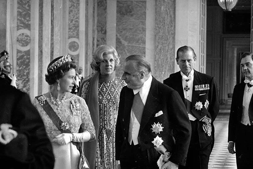 Not so fast Monsieur Pompidou: The Queen in Paris in 1972