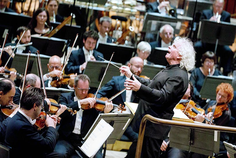 Sir Simon Rattle conducts the LSO at the Barbican
