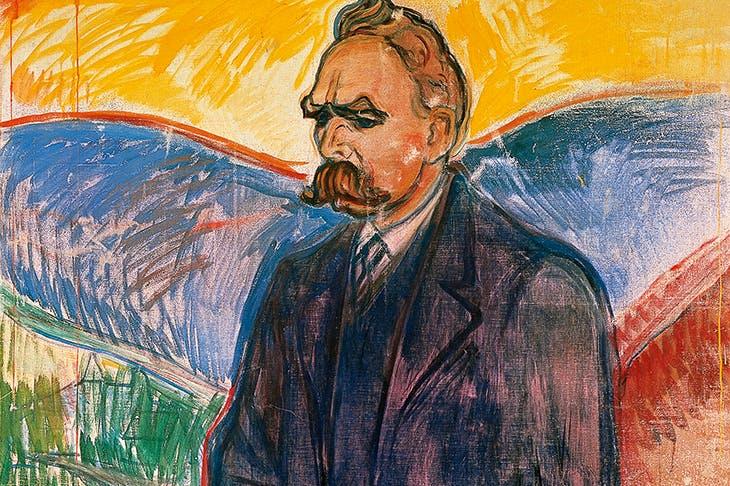 'Portrait of Friedrich Nietzsche', Edvard Munch, c. 1906