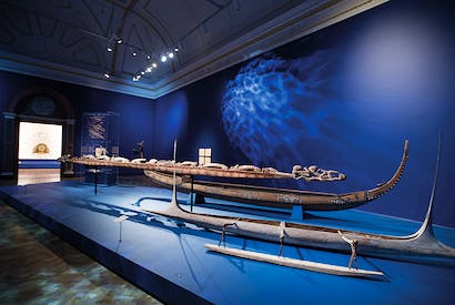 The 'soul canoe' from New Guinea is a sculpture as powerful as any by Brancusi
