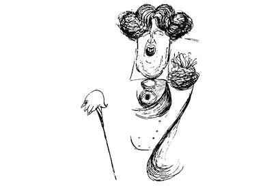 L'ecrivain irlandais Oscar Wilde, by Max Beerbohm