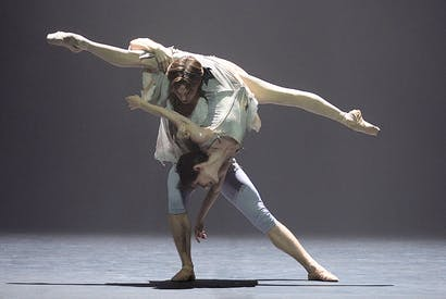 Joseph Caley and Alina Cojocaru in English National Ballet's Manon