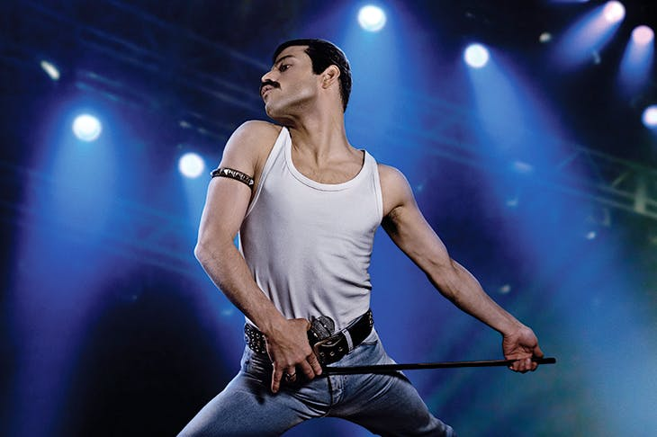 Mercury rising: Rami Malek as Freddie Mercury in Bohemian Rhapsody