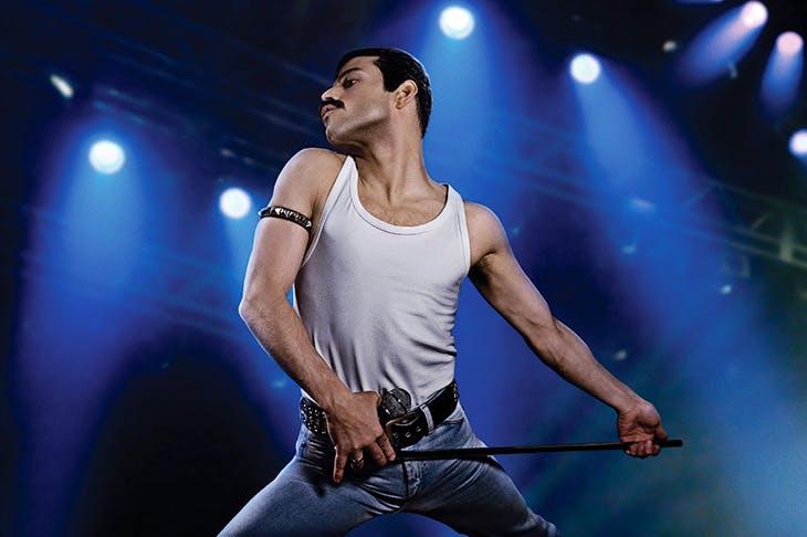 Mercury rising: Rami Malek as Freddie Mercury in Bohemian Rhapsody