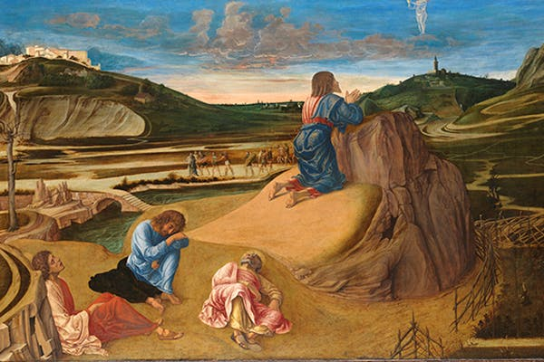 'The Agony in the Garden', c.1458–60, by Giovanni Bellini