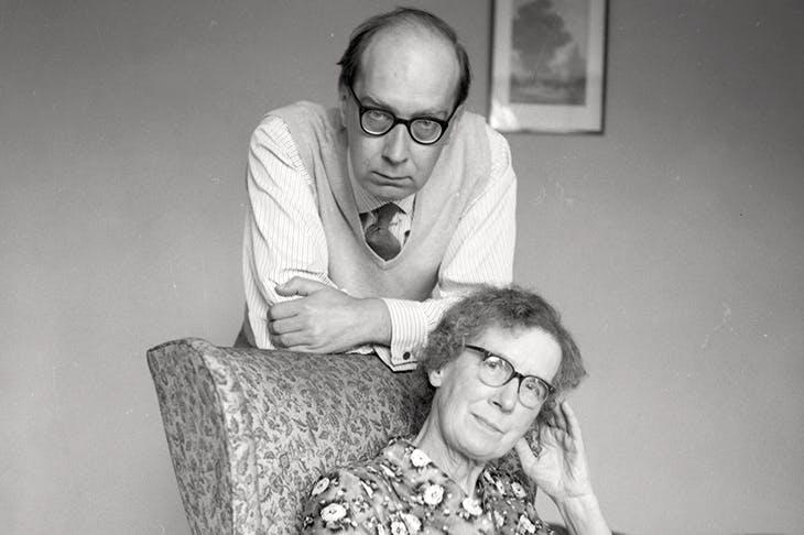 Under a spell: Philip Larkin with Eva in 1965