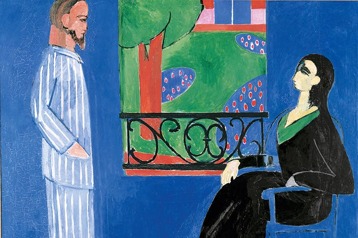 'The Conversation', by Henri Matisse, 1908–1912, the State Hermitage Museum, St Petersburg