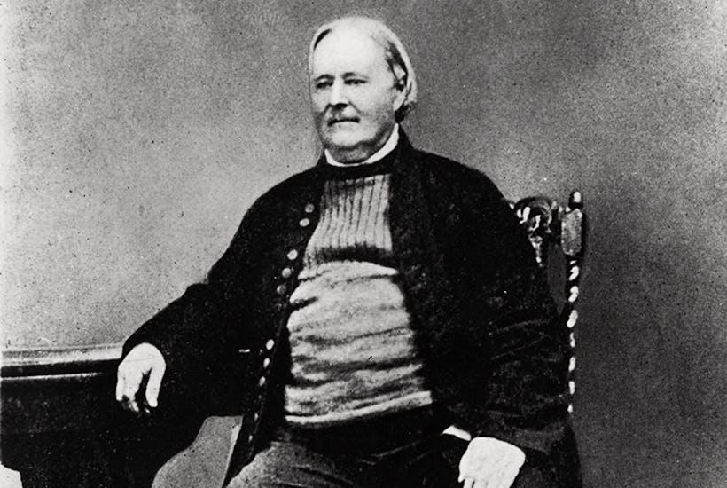 Parson Hawker in c. 1869