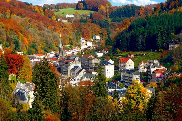Mountain spa: Plombières-les-Bains