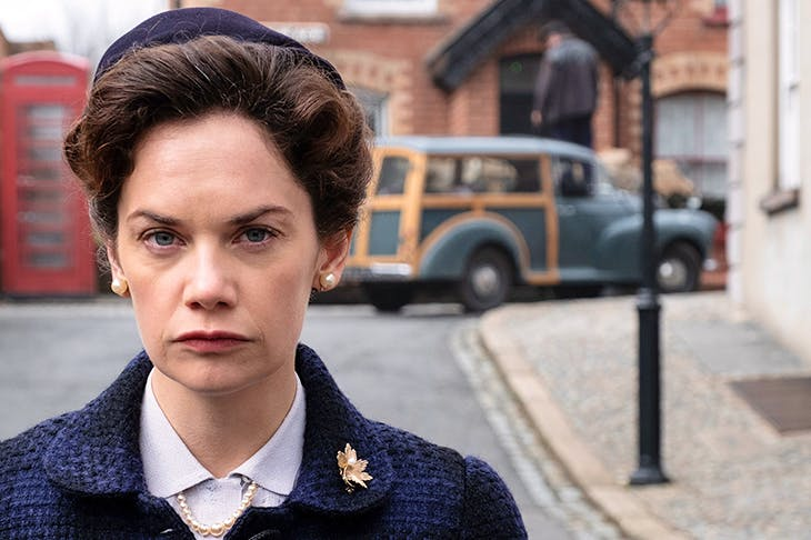 Keeping it in the family: Ruth Wilson playing her grandmother Alison in Mrs Wilson