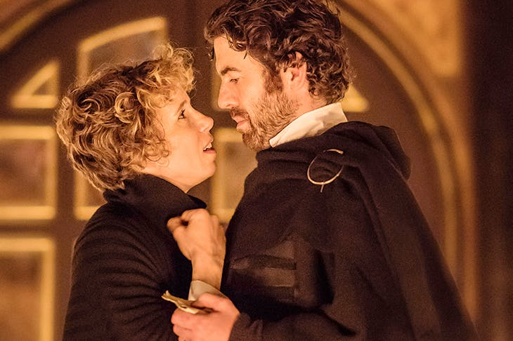 Astonishingly powerful: Michelle Terry as Lady Macbeth and Paul Ready as Macbeth