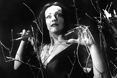 The Finnish-American actress Maila Nurmi, who created the 1950s character Vampira.