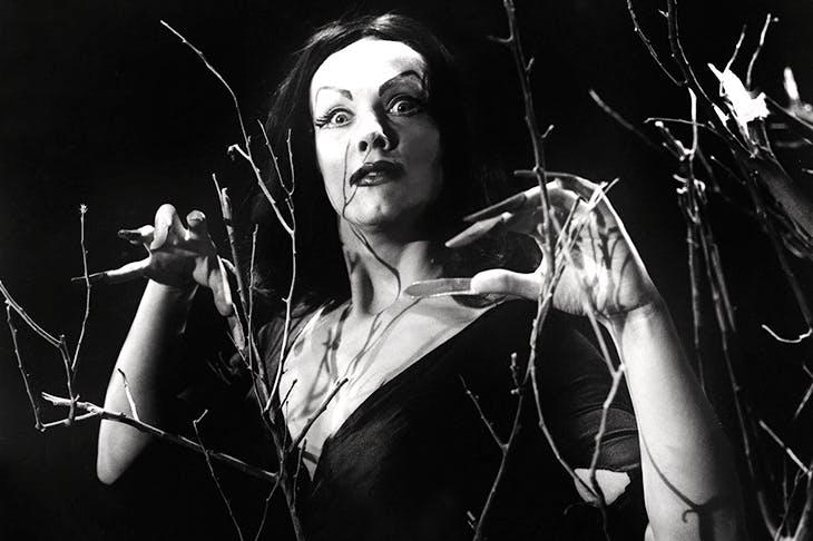 The Finnish-American actress Maila Nurmi, who created the 1950s character Vampira.