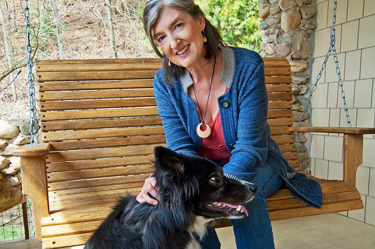 Barbara Kingsolver. Credit David Wood