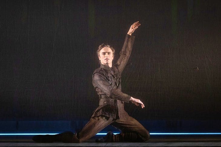 Matthew Ball as Ted Feltham in the Royal Ballet's The Unknown Soldier. Photo: ROH, Helen Maybanks