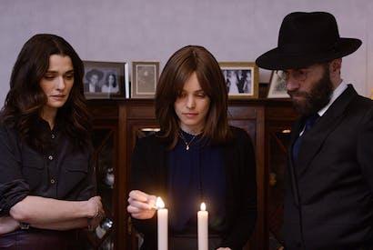 Rachel Weisz, Rachel McAdams and Alessandro Nivola in Disobedience