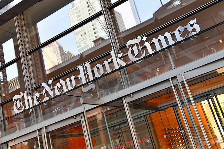The New York Times is leader of the pack in its anti-Trump agenda