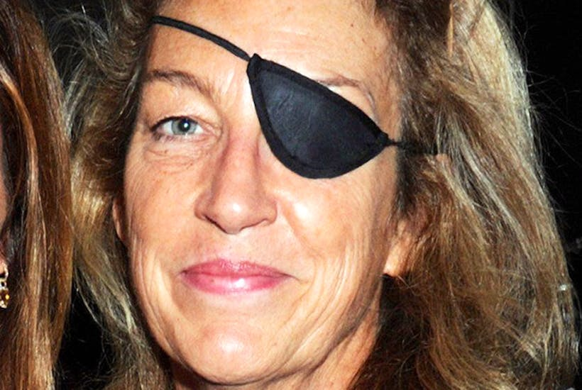 Marie Colvin, a year before her death. [Rex Features]