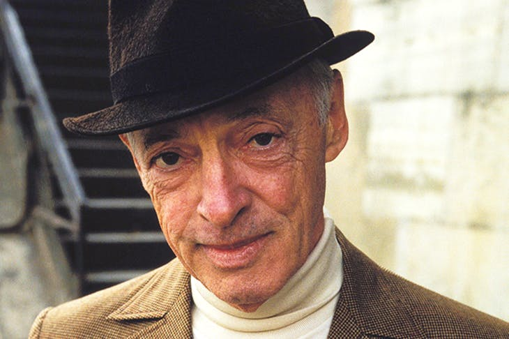 Saul Bellow, photographed in Paris in 1982. Extraordinary literary intelligence saw him through the mess of his own life