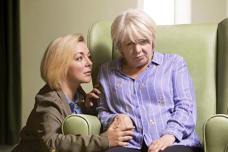Sheridan Smith and Alison Steadman in Jimmy McGovern's Care. Photo: BBC / LA Productions / Dan Prince
